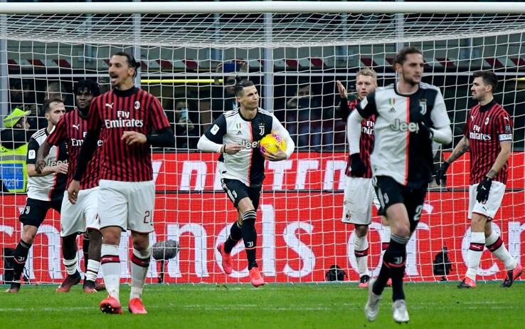 Milan-Juventus 1-1, Ronaldo salva i bianconeri nella semifinale di ...