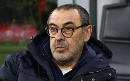 """Sarri: """"Il rigore dato alla Juve è clamoroso"""""""