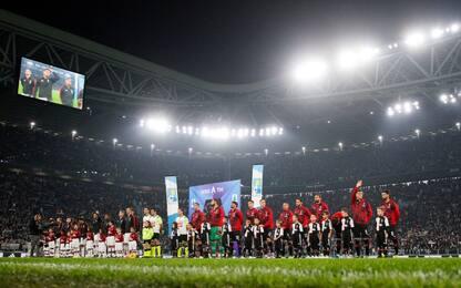 Juventus-Milan rinviata a data da destinarsi