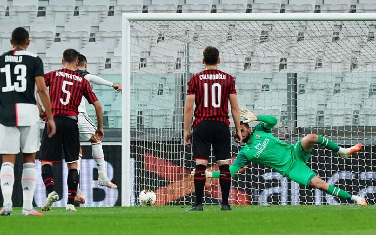 Juventus vs Milan - Semifinale di ritorno Coppa Italia 2019/2020