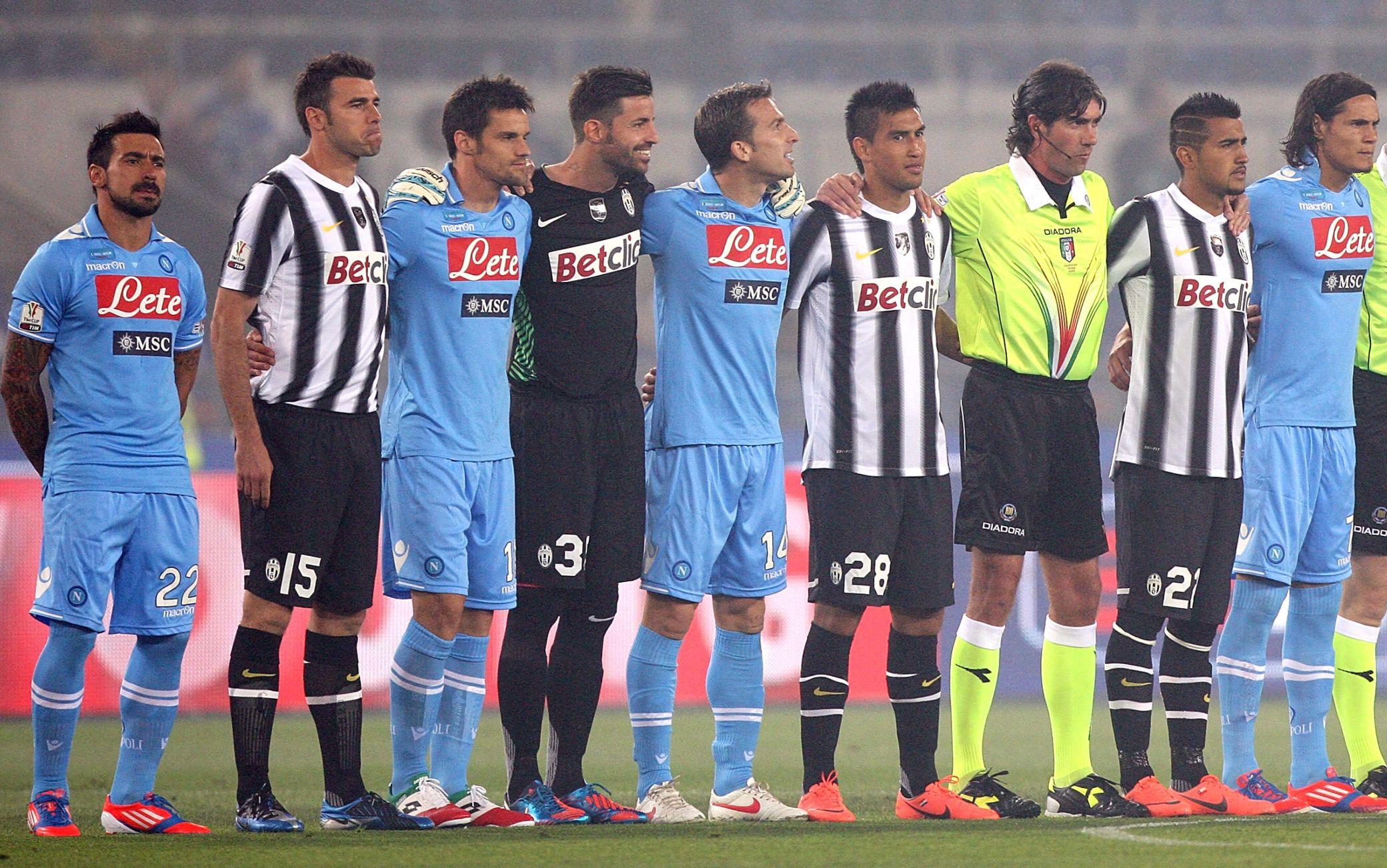 Napoli-Juve, chi erano i giocatori dell'ultima finale di Coppa Italia del  2012?