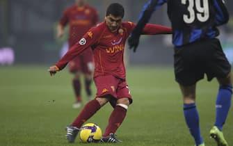 """Inter v Roma - """"TIM CUP"""" Coppa Italia Quarti di finale 2008 2009 - Stadio Giuseppe Meazza """"San Siro"""" Milano"""