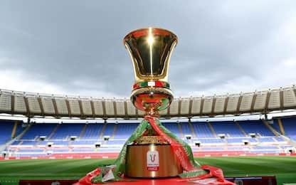 Coppa Italia, calendario e tabellone degli ottavi