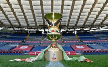 Coppa Italia trofeo Getty
