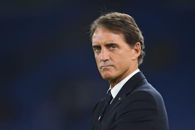 """Mancini: """"Mertens può colpire, CR7 meglio esterno"""""""