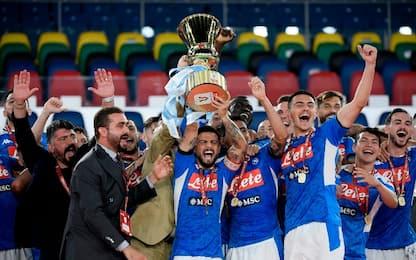Il Napoli vince la Coppa Italia: Juve ko ai rigori
