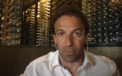 """Del Piero: """"Rino speciale, per Juve sia stimolo"""""""