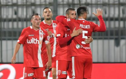 Monza avanza in Coppa Italia: 3-0 alla Triestina