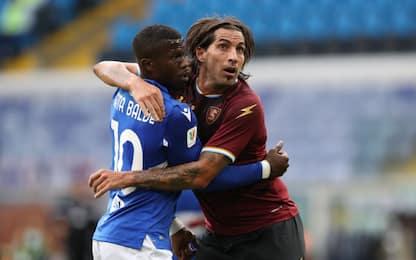 Coppa Italia, Bologna e Samp passano il turno