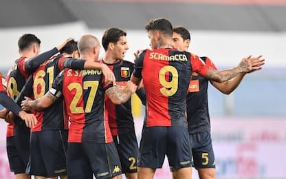 Scamacca-show, 3-1 alla Samp: Genoa trova la Juve
