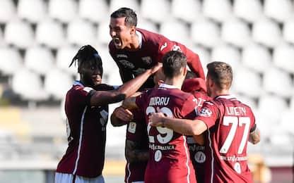 Torino agli ottavi di Coppa Italia: Entella ko 2-0