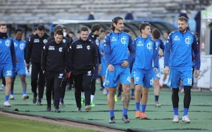 Rinuncia Brescia, 3-0 a tavolino per l'Empoli
