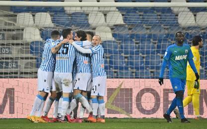 Colpo Spal: Sassuolo ko, ai quarti contro la Juve