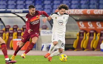 Roma-Spezia 1-2 LIVE: Mayoral si divora il pari
