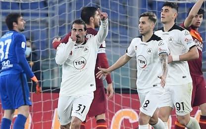 Roma ko ai supplementari: vince lo Spezia 4-2