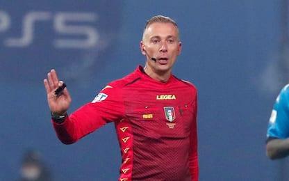 Coppa Italia, Valeri arbitra il derby di Milano