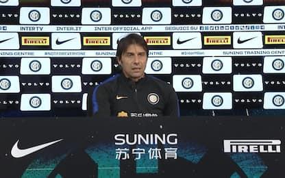 """Derby, Conte: """"Il Milan non ha solo Ibra"""""""