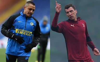 Inter-Milan, Sanchez dal 1', out Mandzu. Probabili