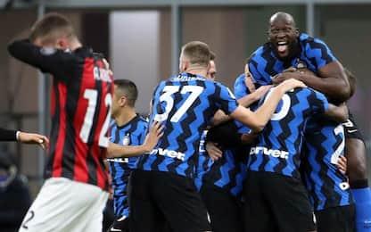 L'Inter passa, Milan ko 2-1: decide Eriksen