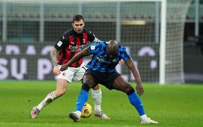Inter-Milan 1-1 LIVE: pari di Lukaku su rigore