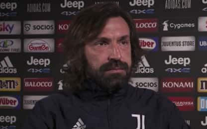 "Pirlo: ""Buffon e De Ligt dal 1', occhio alla Spal"""