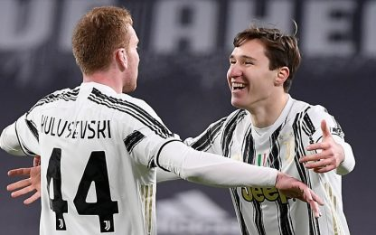 La Juve vola in semifinale, Spal battuta 4-0