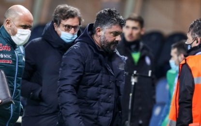 """Gattuso: """"De Laurentiis? Non ci ho parlato"""""""