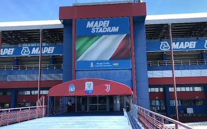 Coppa Italia, le misure per l'ingresso allo stadio