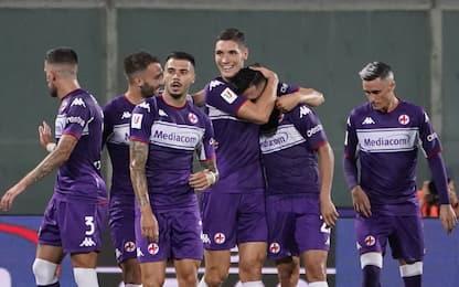 Vlahovic trascina la Viola. Ok Genoa e Udinese