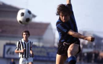©LapresseArchivio storicosportcalcioanni '70Roberto Boninsegnanella foto: il calciatore dell'Inter Roberto Boninsegna durante una partita