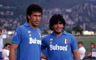 Careca e Maradona