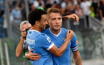 Italian football Serie A match - SS Lazio vs Cagliari Calcio