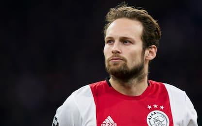 Ajax, stop per Blind: ha problemi al cuore