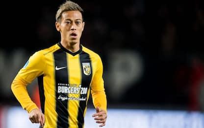 "Honda lascia il Vitesse: ""Mi sento responsabile"""