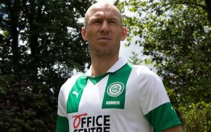 Robben torna a giocare: ha firmato col Groningen