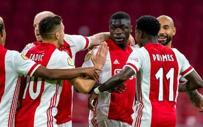 Brobbey subito in gol, Ajax si gode il mini Lukaku