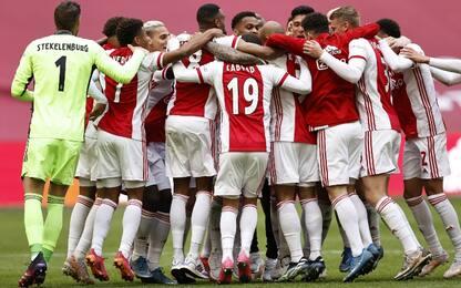 L'Ajax è campione d'Olanda: è il titolo numero 35
