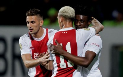 Ajax macchina da gol: già 27 nelle prime 6 partite