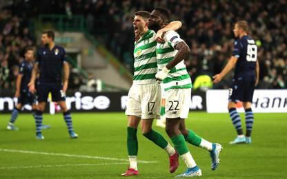 Il Celtic ribalta la Lazio e vince all'89°: 2-1