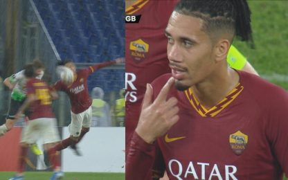 Furia Roma, il rigore assegnato al Borussia: VIDEO