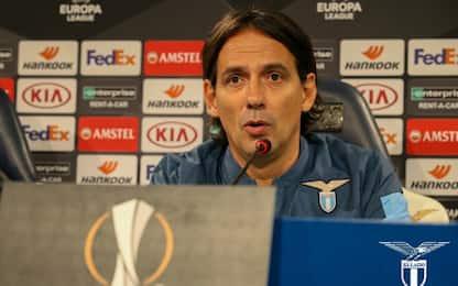 """Inzaghi: """"Tanti problemi fisici. Fiducia Immobile"""""""
