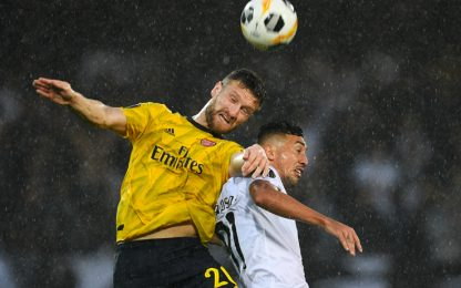 Mustafi non basta ai Gunners: Vitoria-Arsenal 1-1