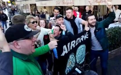 Rod Stewart, show a Roma con i tifosi. Video