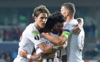 La Roma sbanca Istanbul, Basaksehir travolto 3-0