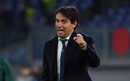 """Lazio, Inzaghi: """"Oggi ci crediamo un po' di più"""""""