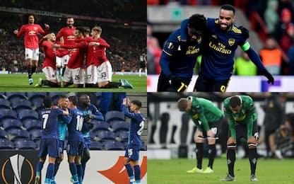United, Arsenal e Porto ok, 'Gladbach fuori