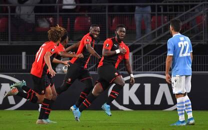 Lazio fuori dall'Europa, vince il Rennes 2-0