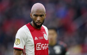 Ryan Babel of Ajax during the Dutch Eredivisie match between Ajax Amsterdam and Sparta Rotterdam at the Johan Cruijff Arena on January 19, 2020 in Amsterdam, The Netherlands(Photo by ANP Sport via Getty Images)