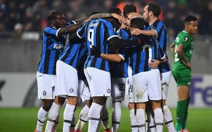 Eriksen-Lukaku, l'Inter batte il Ludogorets 2-0