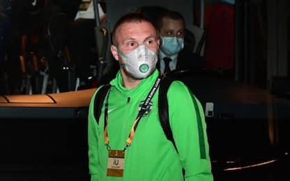 Ludogorets a S. Siro ancora con inutili mascherine